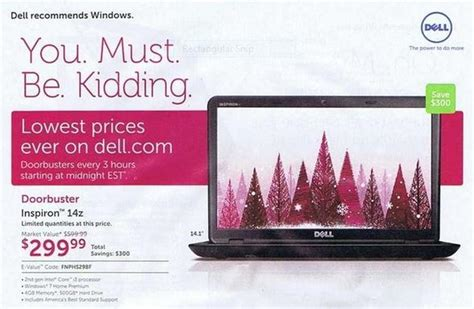 dell ad dell black friday 2012 ad leaks zdnet