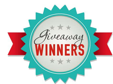 Lucky Giveaways - december january giveaway winners designer blogs