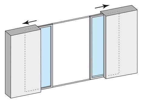 rail alu pour porte coulissante baie coulissante 3 vantaux porte rail accueil design et