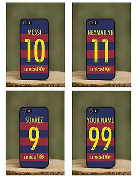 Lionel Messi T Shirts Iphone 6 6s Custom messi football 2016 kit new phone cover fits apple