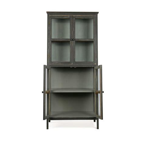 Armoire Asymetrique armoire design asym 233 trique en bois noir herritage by drawer