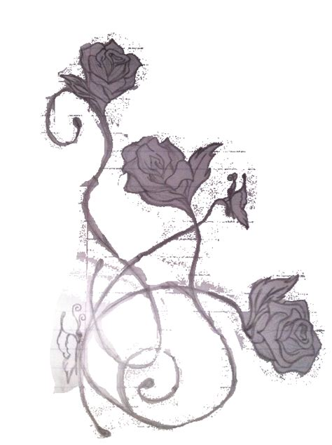 tattoo rose png modified rose tattoo design by getsutora on deviantart