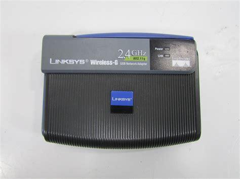 Usb Wifi Linksys linksys wusb54g ver 4 wireless g 2 4ghz usb network