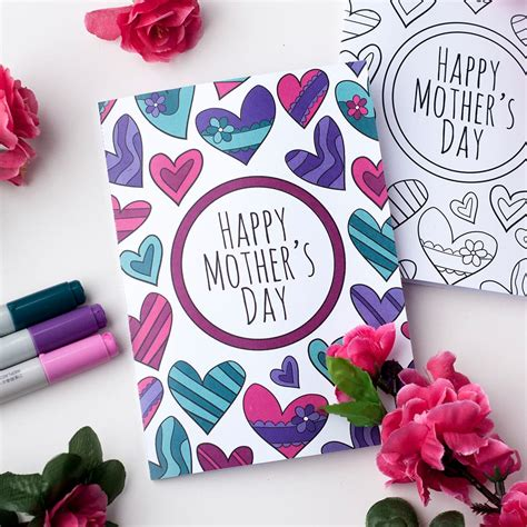 designing a thoughtful and unique mother 39 s day card