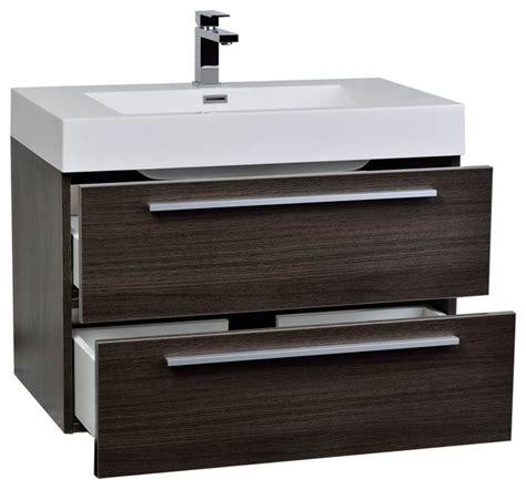 contemporary bathroom vanity conceptbaths 31 5 quot wall mount modern bathroom vanity grey