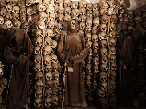 best catacombs in rome rome catacombs tour with bone chapel walks of italy