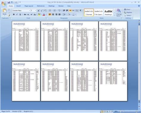 Convert Reports To Ms Word Format B2win Solutions Nazdaq Your Documents Your Way Microsoft Word Table Templates