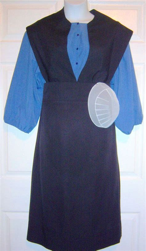 pattern for amish apron women s plus size amish dress cape apron by