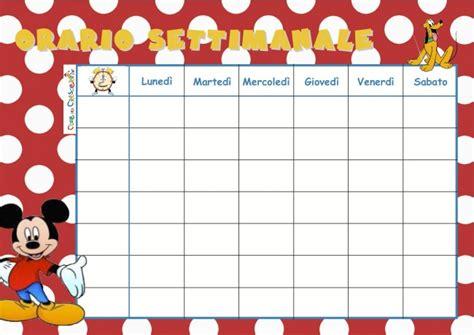 tabella alimentare settimanale calendario settimanale per la scuola cose per crescere