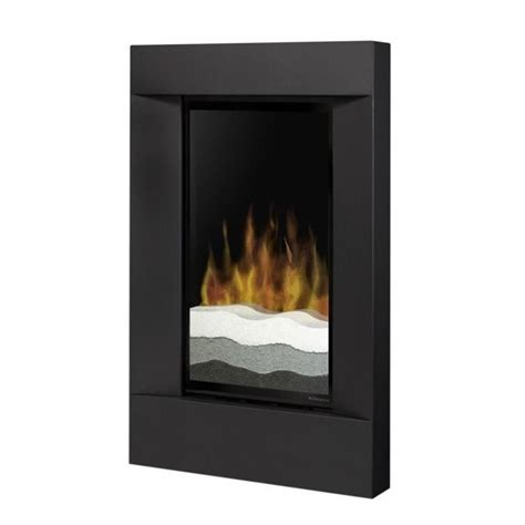 Dimplex Electric Fireplace Wall Mount by Dimplex Electraflame Wall Mount Electric Fireplace In Black V1525rt Blk