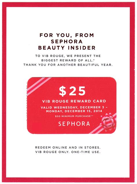 How To Use A Sephora Gift Card Online - sephora 25 off 50 gift card for holiday 2014 gift ideas