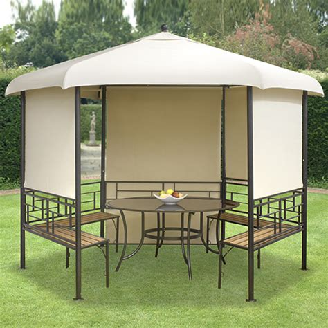 gazebo hexagonal hexagonal gazebo garden furniture review compare prices