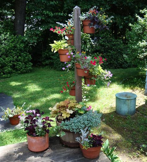 Potted Gardens Ideas Container Gardening Ideas Corner