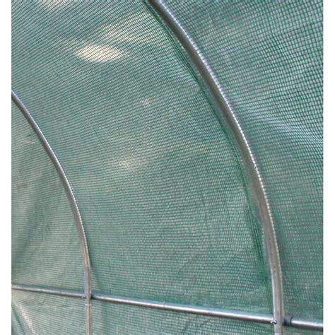 serre tunnel 6m 178 avec couverture verte en pe arm 233 140gr m 178