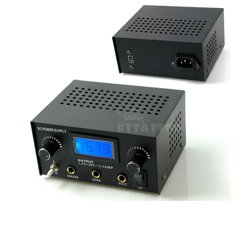 tattoo power supplies lcd digital dual power supply with ebay