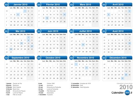 Calendrier Scolaire 2016 17 Nb Calendrier 2010
