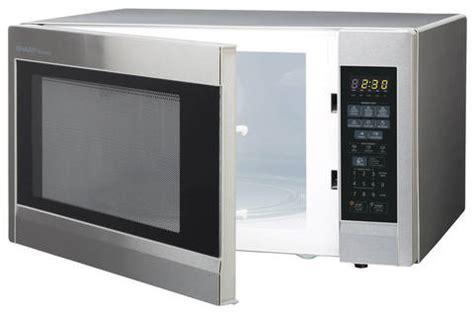 Sharp Microwave Oven R 21d0 sharp 1 8 cu ft 1100 watt microwave oven stainless