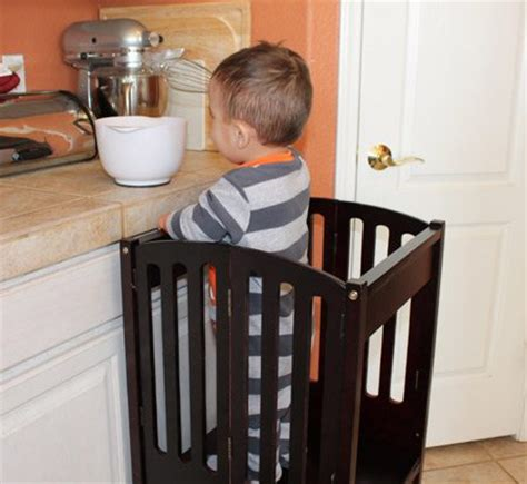 Kitchen Helper One Step Ahead Kitchen Helper Safety Tower Product Review Baby Gizmo