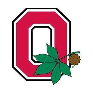 Ohio State Block O Outline by Ohio State Decal Block O With Leaf Decal On Popscreen