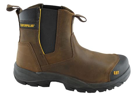 Caterpillar Bandick Brown Steel Toe Safety Boot new caterpillar cat propane mens steel toe safety boots ebay