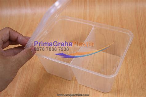 Murah Plastik Container Tahan Panas Untuk Microwave 1000 Ml Tutup ms venture kotak oven 2 sekat box 2 kategori makanan