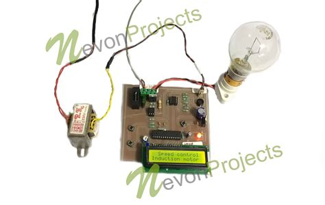 mini project on induction motor induction motor speed controller project nevonprojects