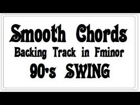 minor swing backing track f swing videolike