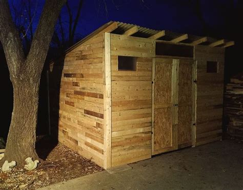 plans  build  shed  recycle pallet