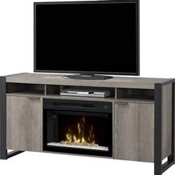 dimplex electric fireplace tv stand with acrylic in