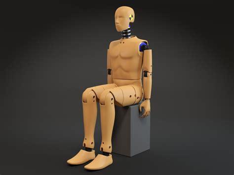 crash test dummy  model cgstudio