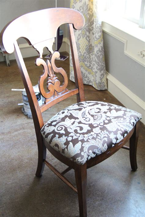 Dining Room Chairs Redo Redoing The Dining Chairs Shanty 2 Chic