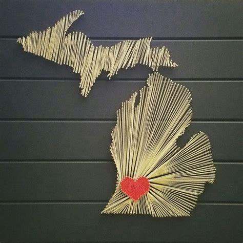 Michigan String - string michigan diy crafts string