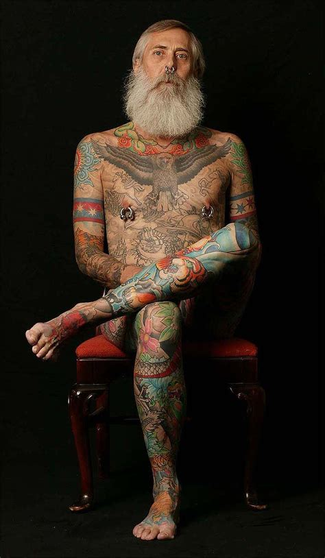 old person with tattoos with tattoos zoeken never tat