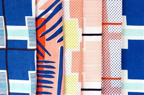 home based textile design jobs the print focused textiles of cassie byrnes design milk