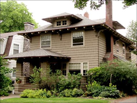 American Foursquare Floor Plans by What Is Foursquare Style American Foursquare Prairie