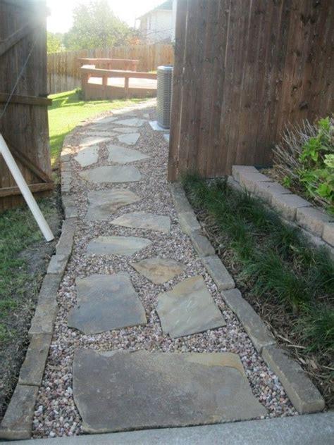 flagstone path  gravel stone walkways   great
