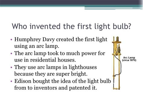 who created the light bulb who invented the lightbulb and what year