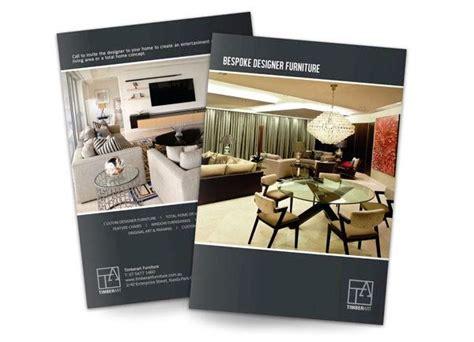 desain brosur modern desain katalog brosur furnitur modern percetakan karawang