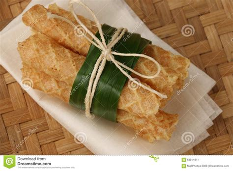 Kue Semprong By Frozen Food kue semprong stock photo image 63814811