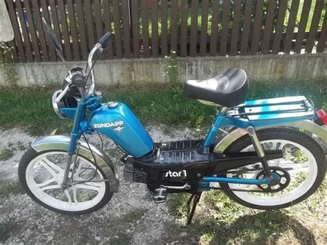 50ccm Motorrad Ohne Schaltung by Biete Ein Sch 246 Nes Blaues 2 Z 252 Ndapp Mofa