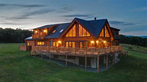log cabin homes for sale showcase slide 2