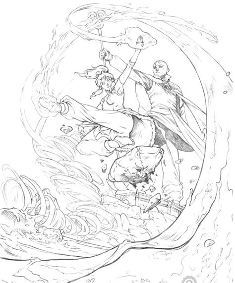avatar coloring page az coloring pages