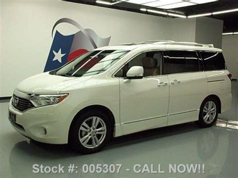nissan quest sunroof buy used 2011 nissan quest 3 5 le dual sunroof nav rear