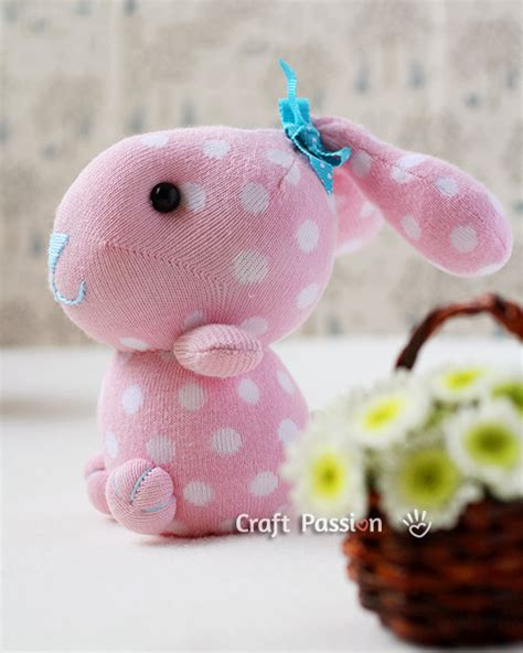 how to make sweet sock bunnies sew handimania