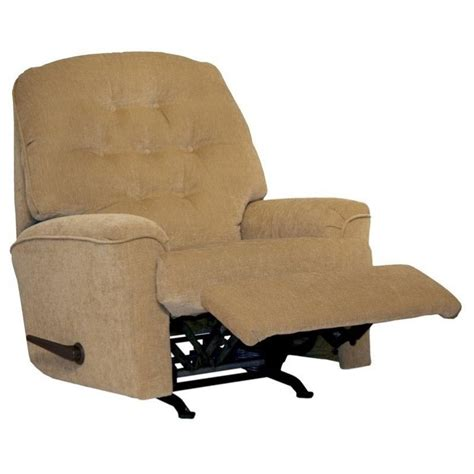 small scale recliner piper small scale rocker recliner chair in tan 42192171936