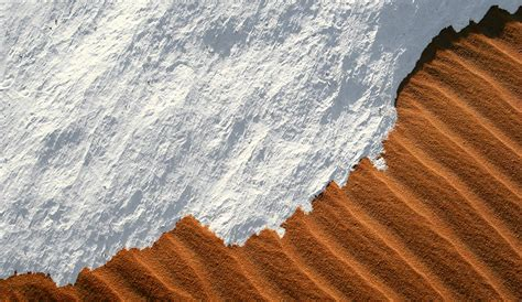 snow in desert snow in the sahara the world s hottest desert gets frostbite