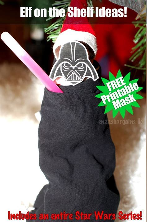 printable elf on shelf mask 25 best ideas about darth vader mask on pinterest darth