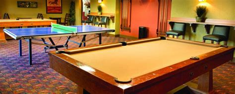 pool tables sevierville tn wyndham smoky mountains amenities with pictures