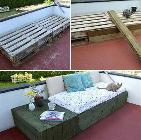 Diy Pallet Patio by 39 Insanely Smart And Creative Diy Outdoor Pallet