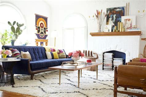 Blaues Sofa Welche Wandfarbe by Farbideen F 252 R Wohnzimmer 36 Neue Vorschl 228 Ge Archzine Net